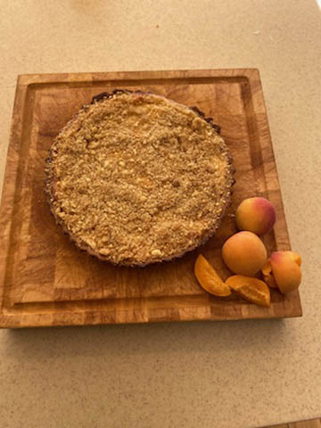 Sour Cream Apricot Pie